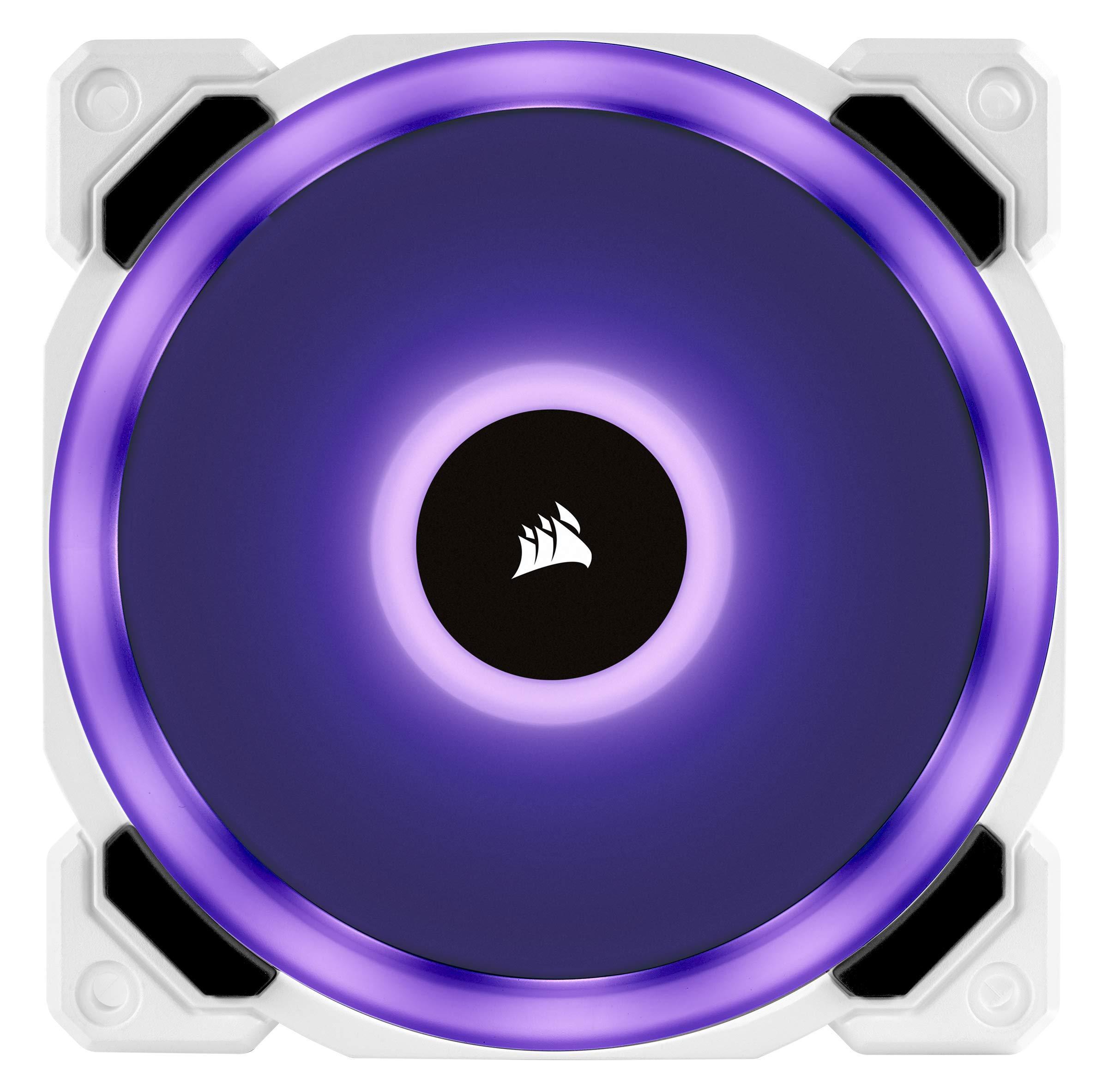 CORSAIR LL Series, LL120 RGB, 120mm RGB LED Fan, Triple Pack with Lighting Node PRO- White by Corsair (Image #13)