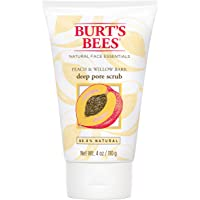 Burt's Bees Peach & Willow Bark Pore Scrub, 110 Grams