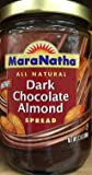 MaraNatha All Natural Dark Chocolate Almond Spread 13 oz. (Pack of 2)