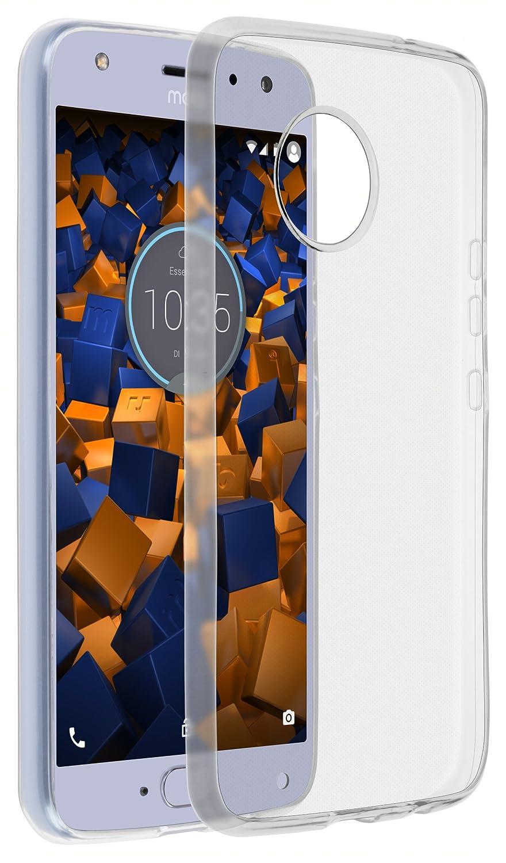 mumbi Schutzhü lle fü r Motorola Moto X4 Hü lle transparent weiss mumbi® 24645