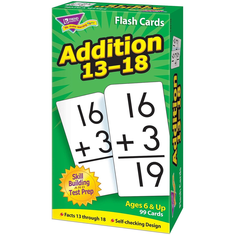 Amazon.com: Skill Drill Flash Cards: Addition 13-18: Toys & Games