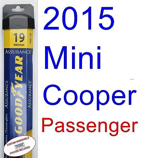 2015 Mini Cooper Convertible de repuesto para limpiaparabrisas Set/Kit (Goodyear limpiaparabrisas blades-