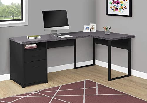 Monarch Specialties Computer Desk L-Shaped Corner Desk