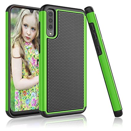 Amazon.com: Njjex - Carcasa para Samsung Galaxy A50 (SM ...