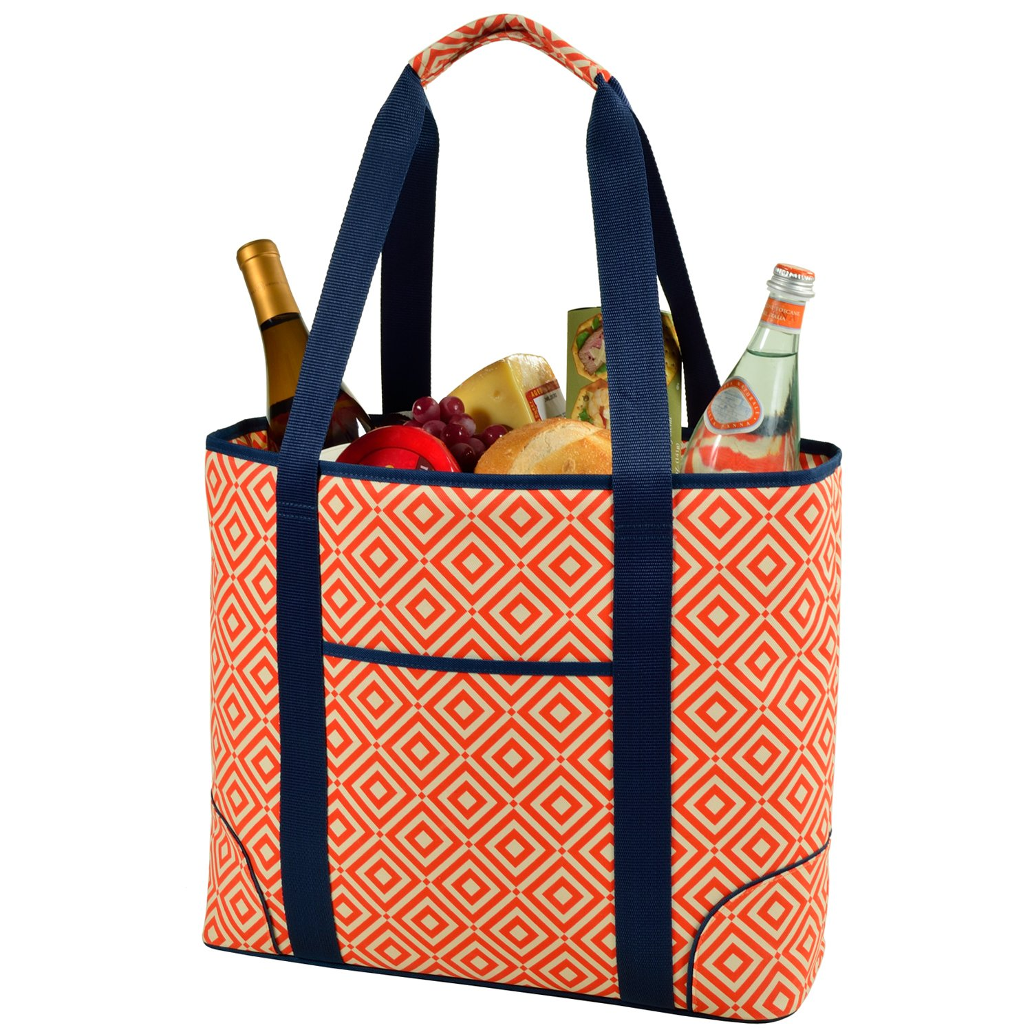 Picnic at Ascot Extra Large Insulated Cooler Bag – 30 Can Tote- Designed Quality Approved in USA