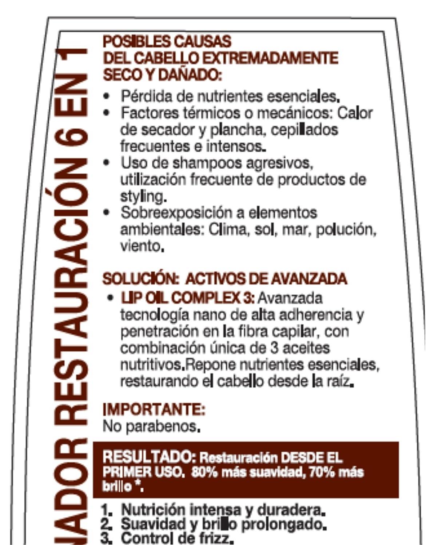 Amazon.com : Vitane- Restauracion 6 en 1 acondicionador colombiano/ cabellos extremadamente secos y dañados /conditioner for extremly dry hair 13.52 oz : ...
