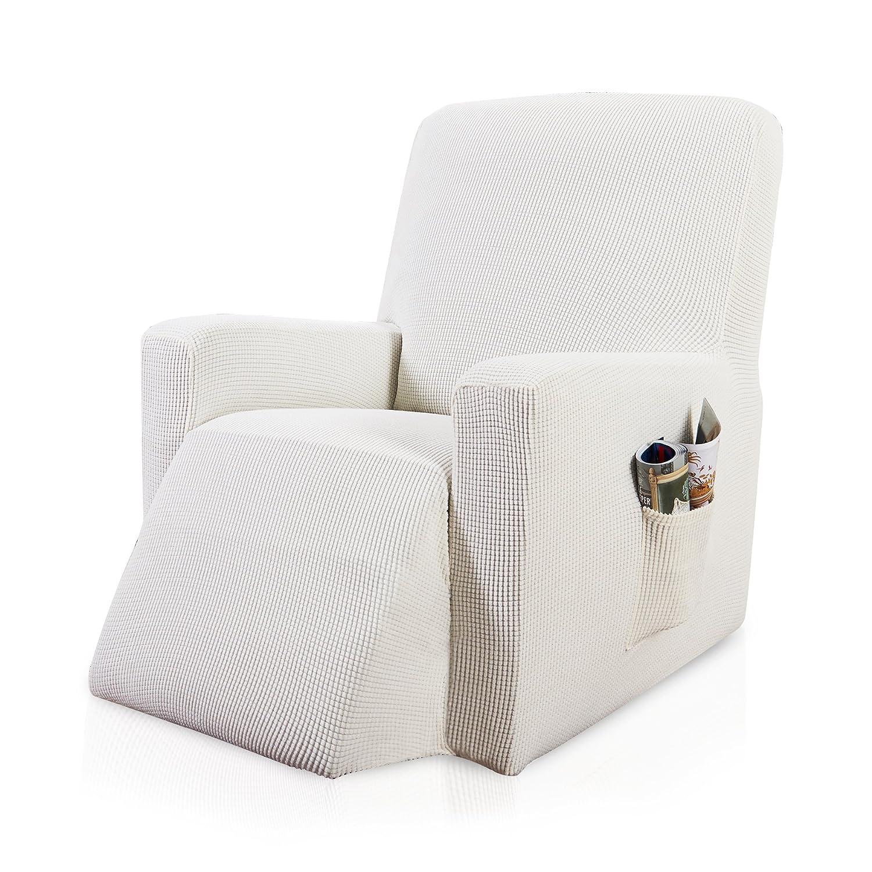 Amazon Com Subrtex 1 Piece Spandex Waffle Fabric Stretch Chair