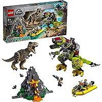 Lego 6278190 Lego Jurassic World Lego Jurassic World T. Rex Vs. Dinomecha Gevecht - 75938, Multicolor