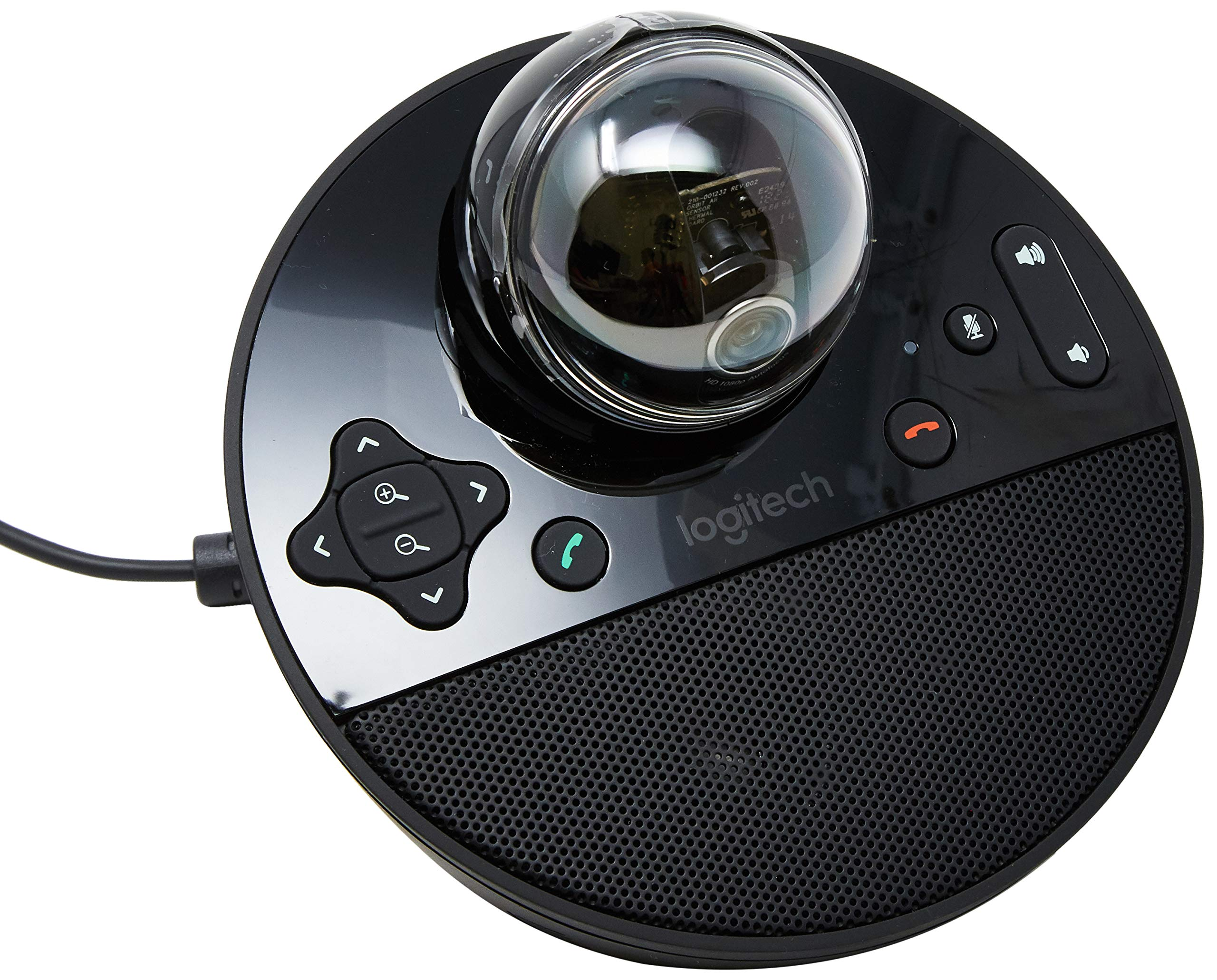 Logitech Conference Cam BCC950 Video Conference Webcam, HD 1080p Camera with Built-In Speakerphone by Logitech