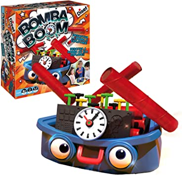 Diset - Bomba Boom, Juego de Habilidad, S.A 62303: Amazon.es: Juguetes y juegos