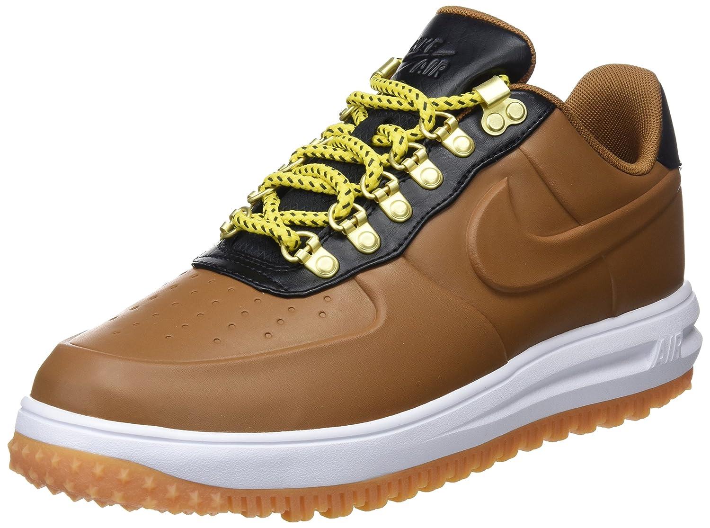 huge discount a07d9 22bf2 Nike Lunar Force 1 Herren Schuhe Entenstiefel Low Brown in Braunem Leder  AA1125-200 40.5 EU - associate-degree.de