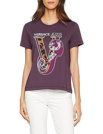 Versace Shirt Versace Amazon Damen T T Sq55p7