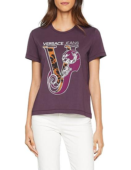 b66964f2c7b5 Versace Jeans Women s Lady T-Shirt Kniited Tank Top  Amazon.co.uk  Clothing