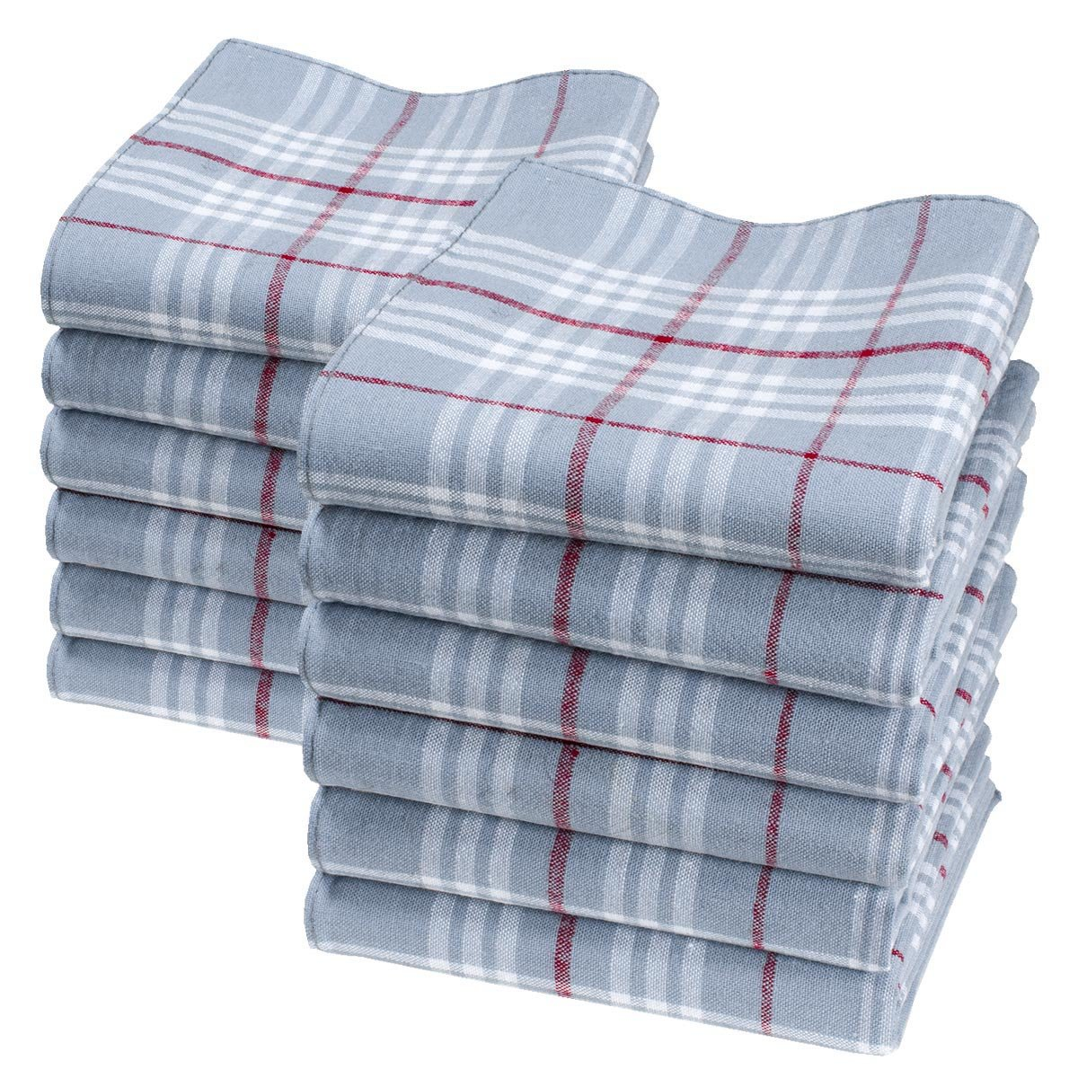 'Arnold' big and thick worker's handkerchiefs - 18 square - 6 units Merrysquare