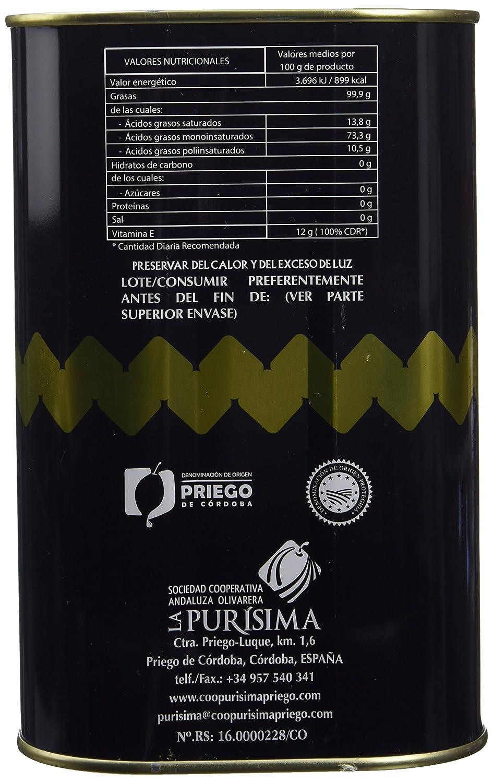 El Empiedro, Aceite de oliva - 2500 ml.: Amazon.es: Alimentación y bebidas