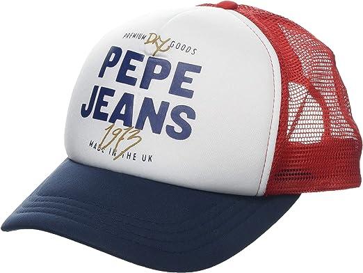 Pepe Jeans Renese Cap Gorra de béisbol, Azul (Steel Blue 563 ...
