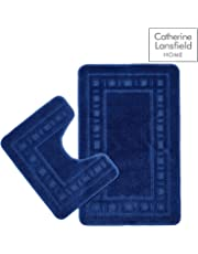 Catherine Lansfield Armoni Bath Set Navy