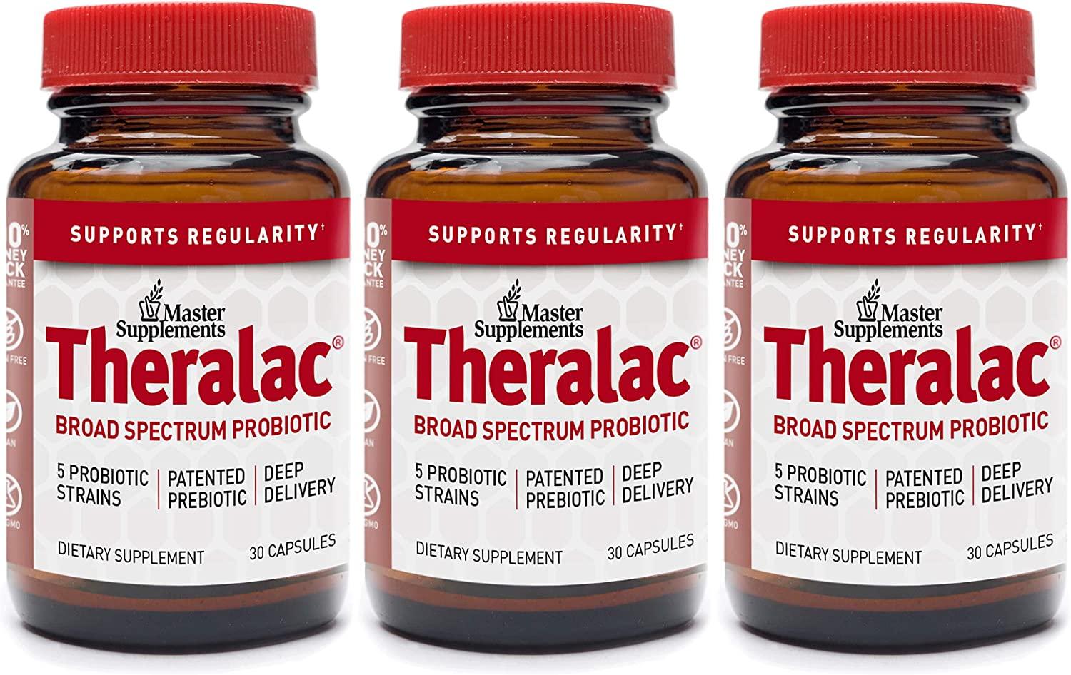 40% OFF Cheap Sale Master Supplements Theralac 3 Pack Capsules 30 Multi - Vegan All items free shipping
