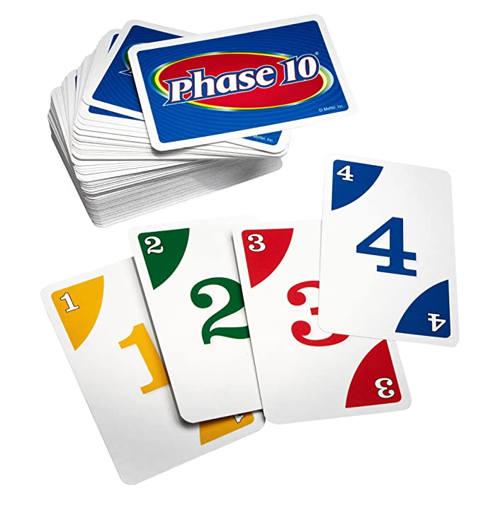 Amazon Phase 10 Card Game Styles May Vary Toys Games