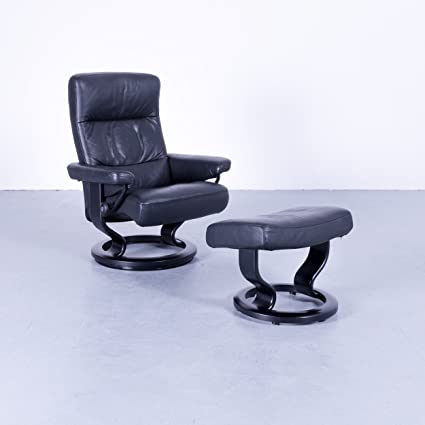Amazon Com Ekornes Stressless Memphis Relax Sessel Hocker Leder