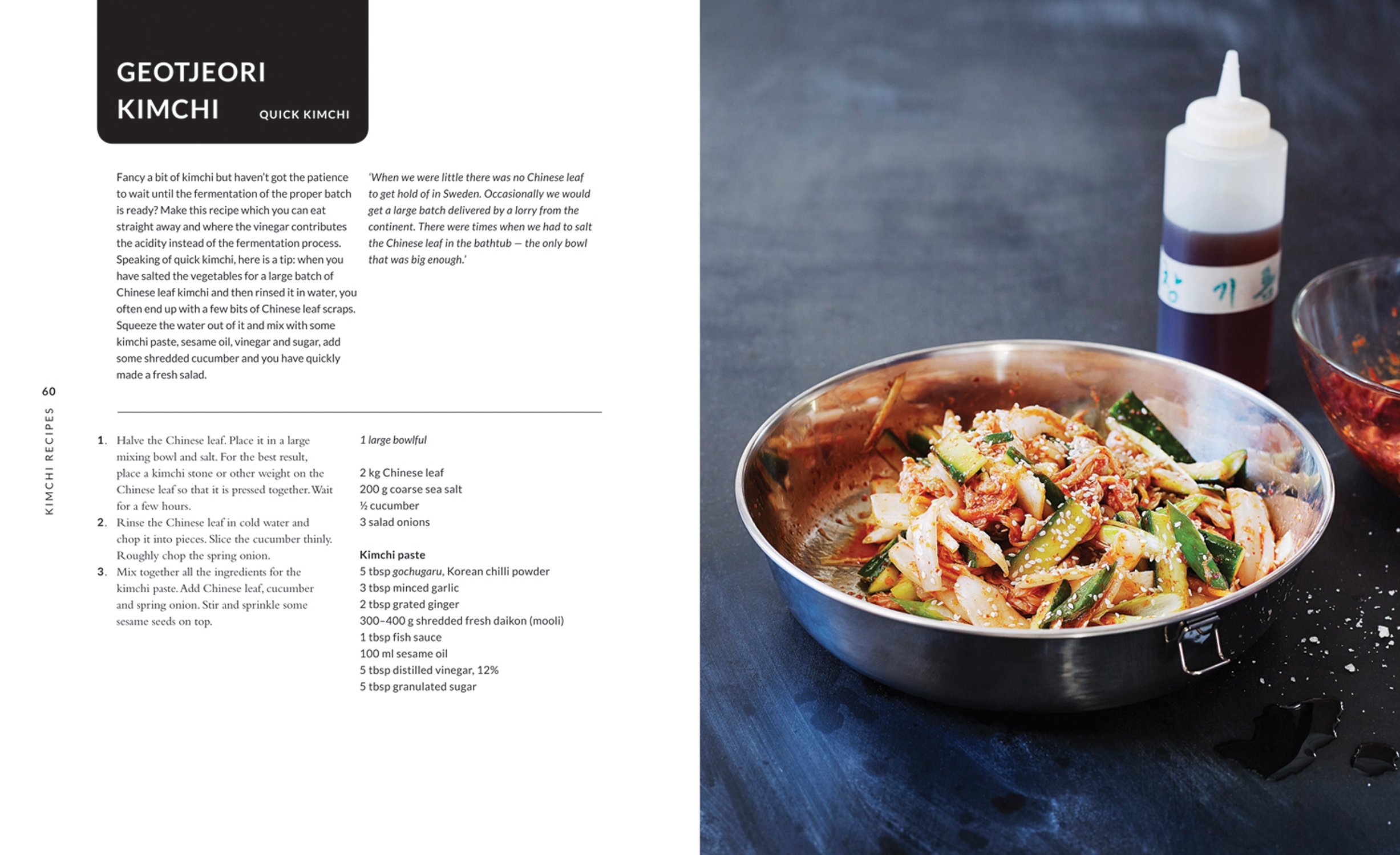Amazon.com: Kimchi: Essential Recipes of the Korean Kitchen ...