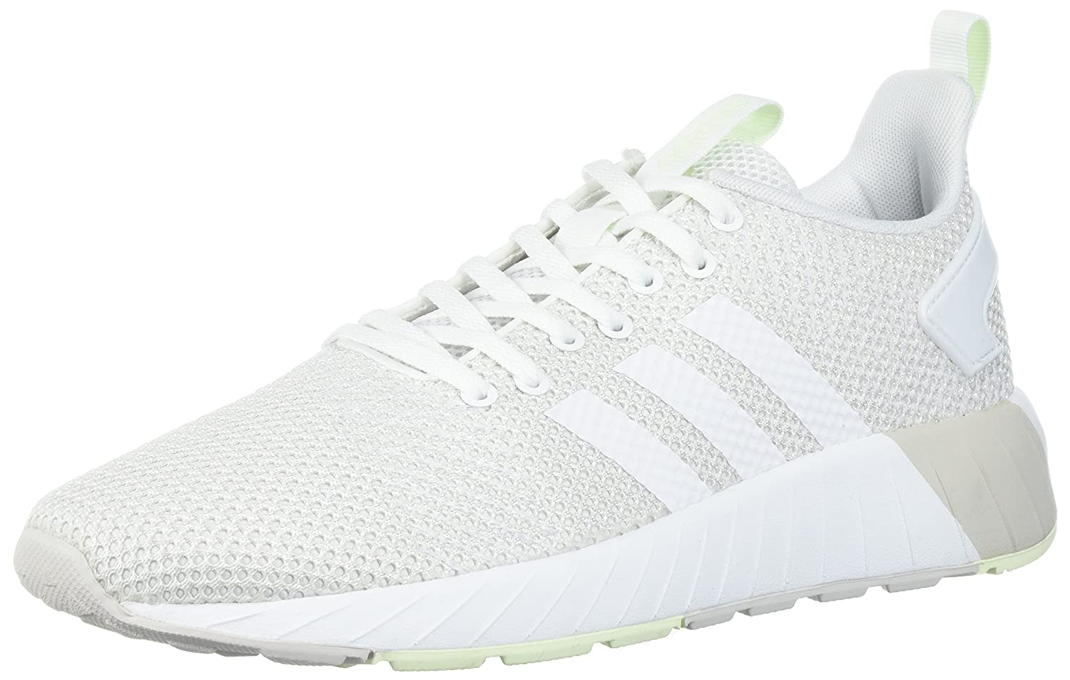 adidas  Women's Questar BYD W B0714BFC5R Green 7 B(M) US|Grey One/White/Aero Green B0714BFC5R 208465
