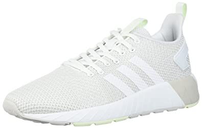 adidas Originals Women's Questar BYD W, Grey One/White/Aero Green, 5