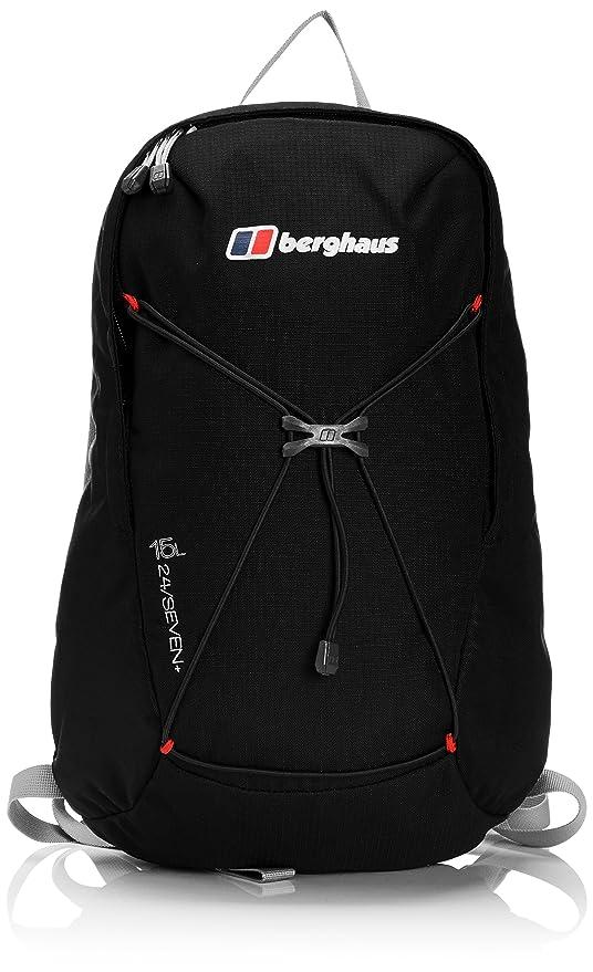 5b3cadfec5 Berghaus mens Berghaus Mens Womens Twenty Four Seven Plus 15 Litre Backpack  Bag Black Black/
