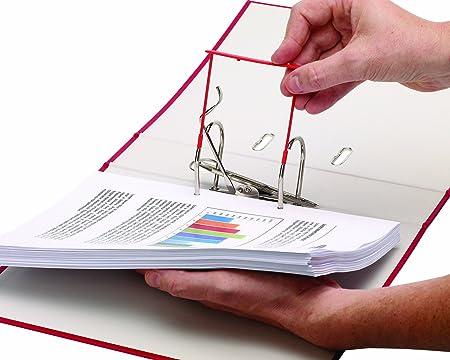 Bankers Box CRC 00896 - Fasteners de plástico clip, 85 mm, rojo: Amazon.es: Oficina y papelería