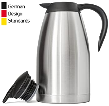 FeschDesign 68 Oz Thermal Coffee Carafe