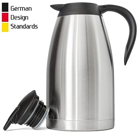 Amazon.com: Nueva taza de café térmica de 2 litros, de acero ...
