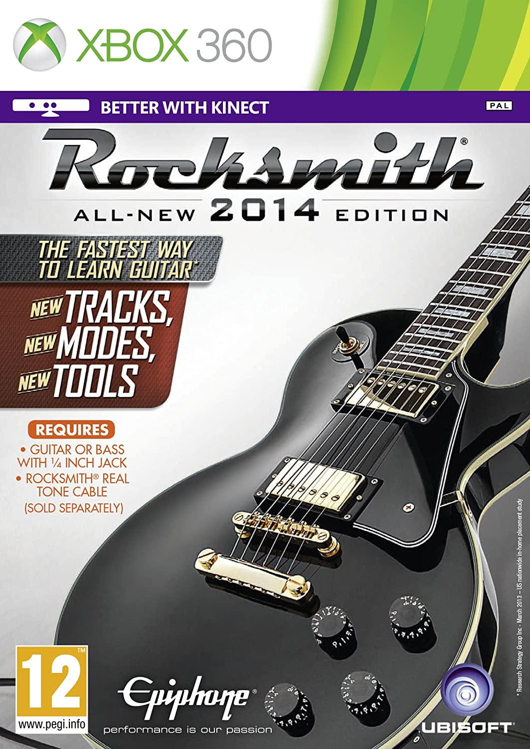 Rocksmith 2014 Edition (Xbox 360): Amazon co uk: PC & Video