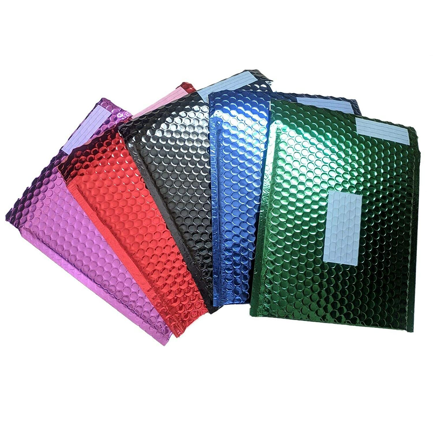 Mailing Envelopes Metallic Bubble Padded 100 Pack of 1 Colour from Assorted 330 x 240 mm