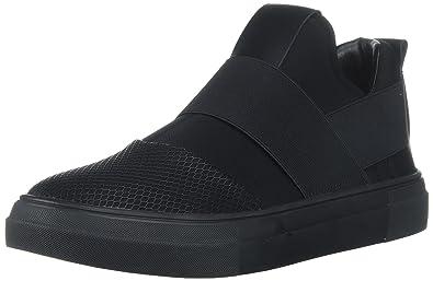 Steve Madden Men's Remote Sneaker, Black/Black, ...
