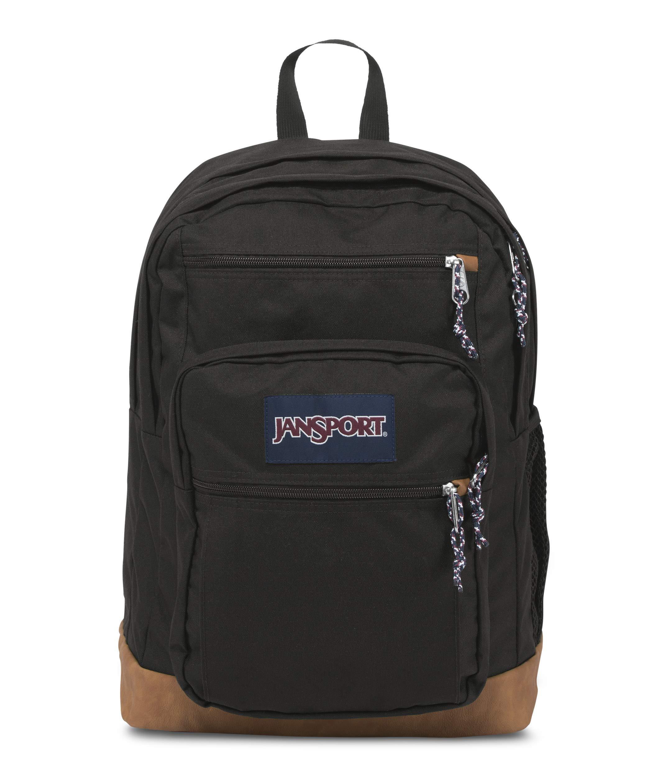 JanSport Cool Student 15-inch Laptop Backpack - Classic School Bag, Black by JanSport