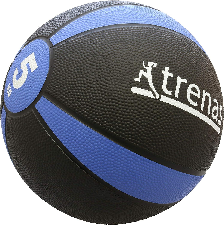 trenas Balón Medicinal de Goma Pro – 2 kg: Amazon.es: Deportes y ...