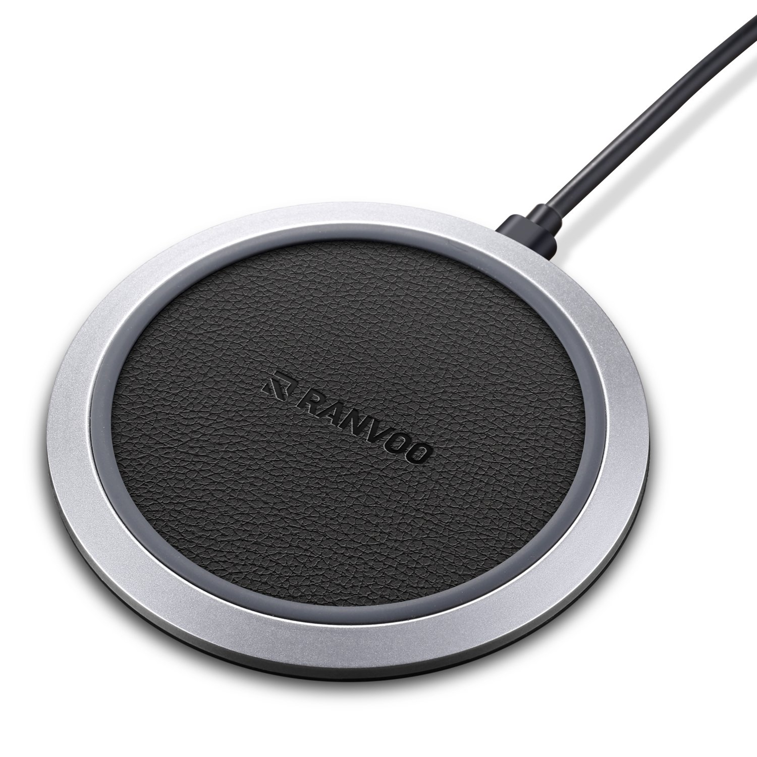 Wireless Charger, RANVOO Wireless Fast Charging Pad for iPhone X, 8, 8 Plus, Samsung Note 8, Galaxy S9/ S9 Plus/ S8 / S8 Plus / S7 and Other QI Enabled Android Devices (Retail Package)