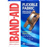 Band-Aid Brand Flexible Fabric Adhesive Bandages for Comfortable Flexible Protection & Wound Care of Minor Cuts…
