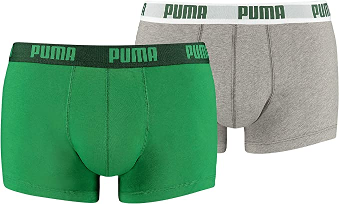 Puma Basic Trunk 2P, Boxer hombre (Pack de 2): Amazon.es: Ropa y ...