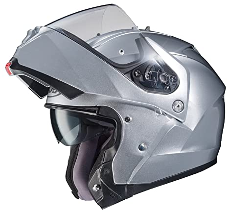 Amazon.com: HJC IS-MAX II Modular Motorcycle Helmet (White, X-Small): Automotive