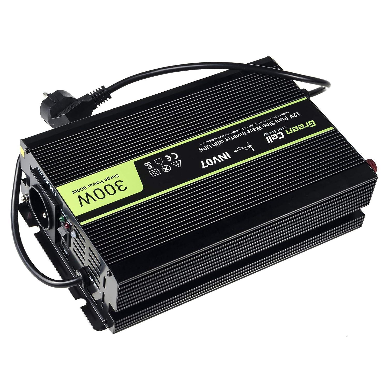 Green Cell/® 1000W//2000W Onda Modificata Inverter Invertitore di Tensione DC 24V AC 230V per Camper Auto Convertitore di Potenza Trasformatore sinusoidale modificata per Auto Porta USB