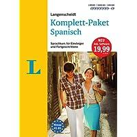 Langenscheidt Komplett-Paket Spanisch - Sprachkurs mit 2 Büchern, 7 Audio-CDs, 1 DVD-ROM, MP3-Download: Sprachkurs für Einsteiger und Fortgeschrittene