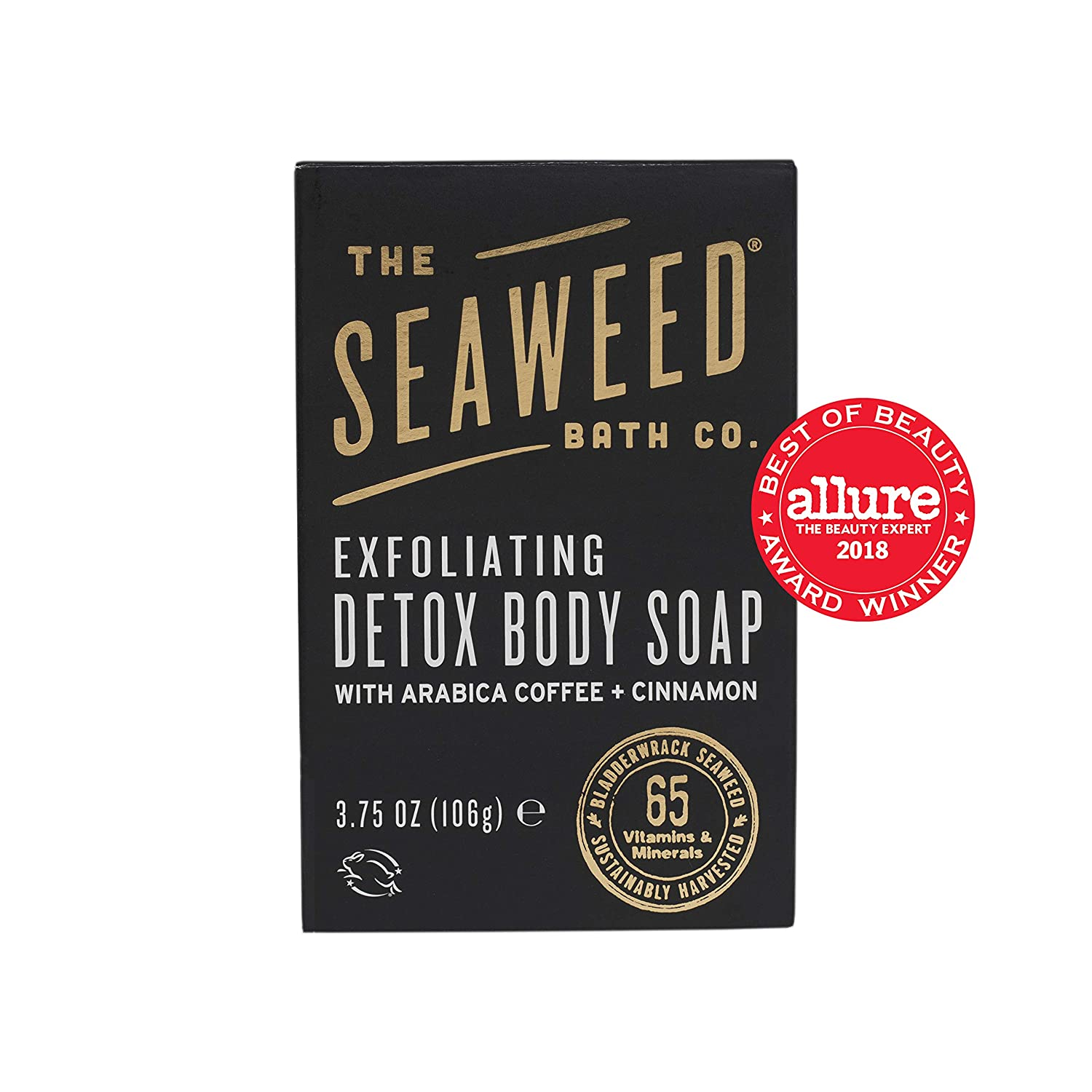 The Seaweed Bath Co Bar Soap, Detox Cellulite 3.7 Ounce The Seaweed Bath Co. 980-035-CLTE