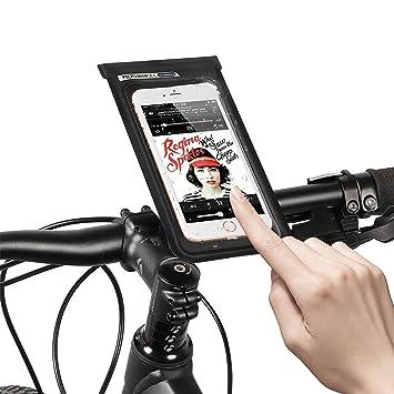 Jhua Waterproof Phone Case Pouch Bike Phone Bag Touch Screen