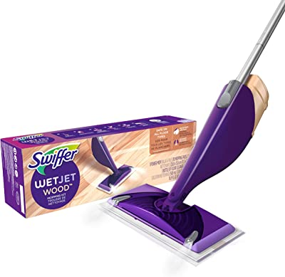 Swiffer WetJet Wood Floor Mopping and Cleaning Starter Kit