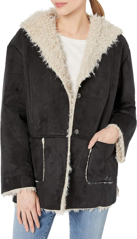 Jack by BB Dakota Women's Faux Suede and Fur Jacket