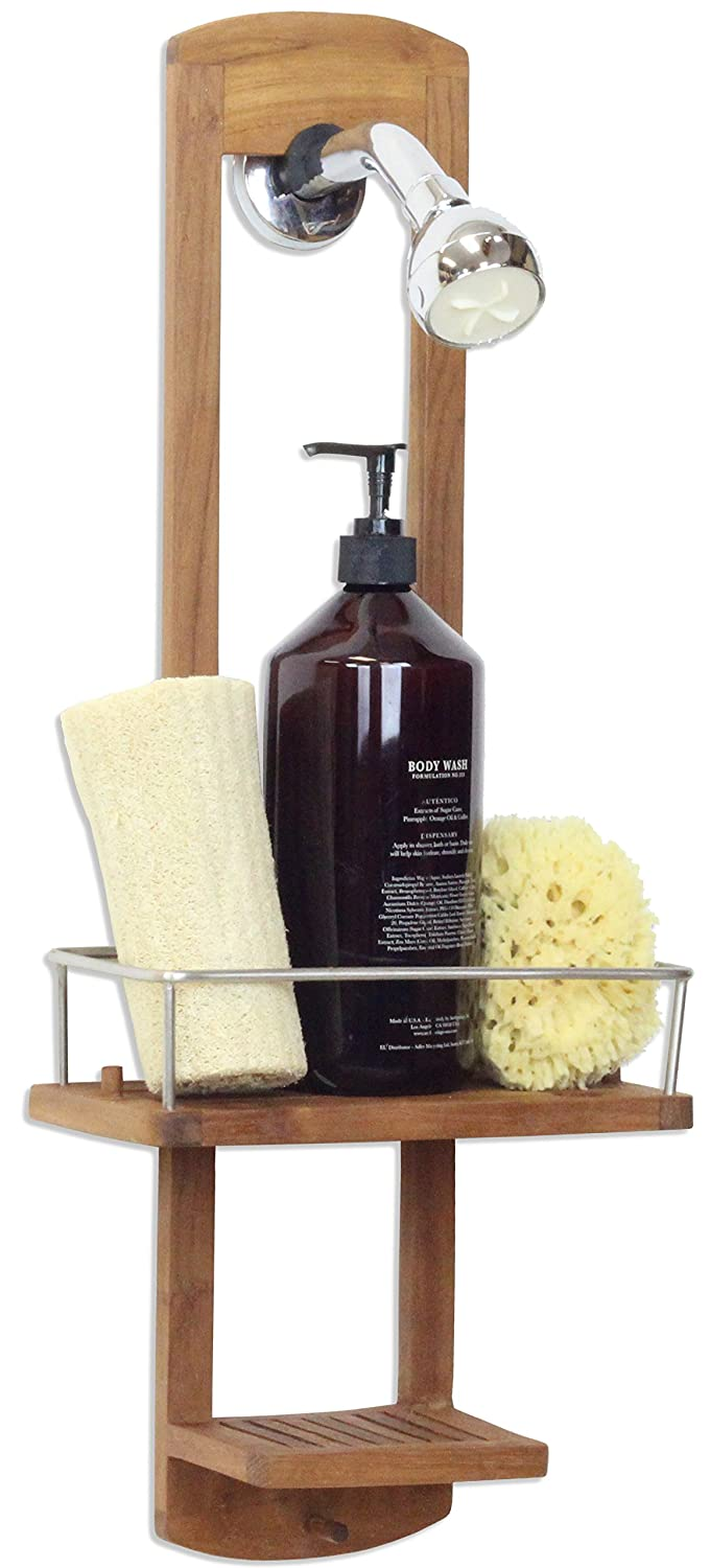 Small Teak Shower-Caddy
