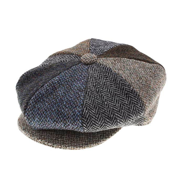 Failsworth failswortth Hombre Mix & Match Harris Tweed Gorra de ...