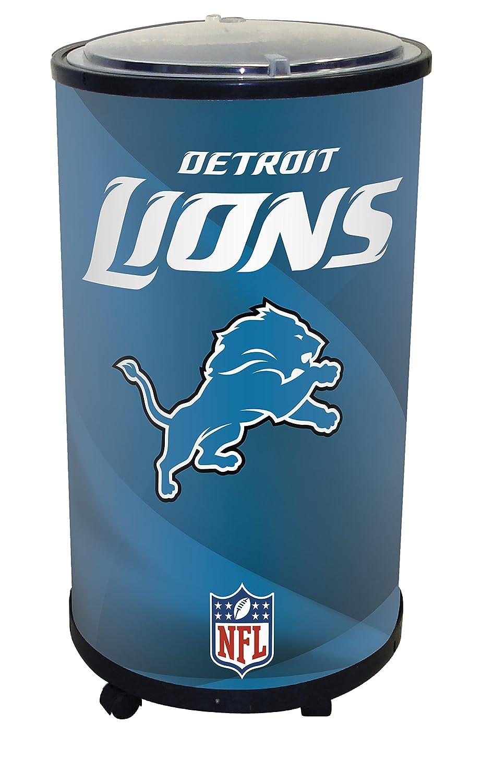 NFL Detroit Lions Iceバレルクーラー、ブラック、19