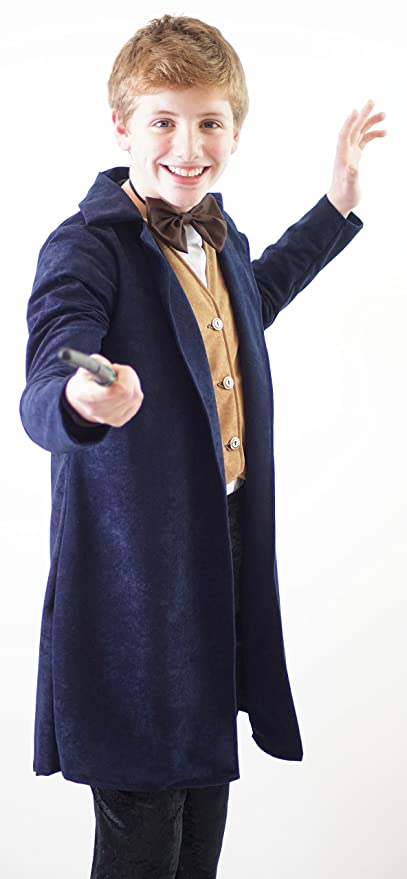 New Vintage Boys Clothing and Costumes Fanctastic Beasts And Where To Find Them- NEWT SCAMANDER Costume - All Childrens Sizes $61.99 AT vintagedancer.com